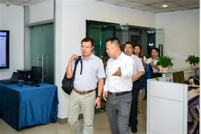 2018年6月5日,深圳市工勘岩土集团林强有董事长一行莅临我司进行交流指导